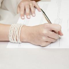 Matrimonio - Firma
