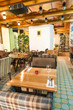 Moscow restaurant  interior