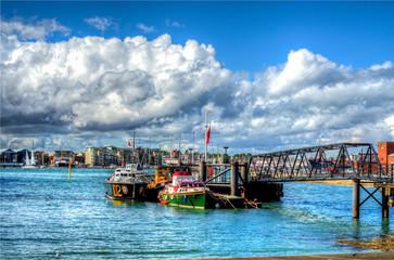 Marina Seaport Pier