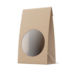 Package with Round Window