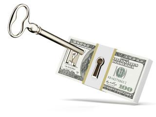 Key and dollars