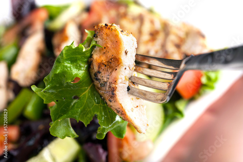 Delicious Grilled Chicken Salad