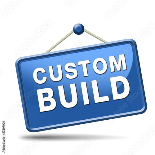 custom build label