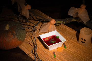 Halloween party dessert