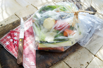 Mixed Vegetables In Protective Bag