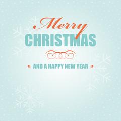 merry christmas new year grußkarte