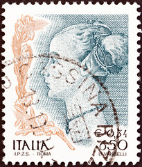 Profile of a Woman by Antonio del Pollaiuolo (Italy 1998)