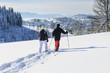 Schneeschuhtour im Westallgäu