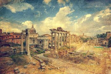 Foro Romano. Rome. Italy.