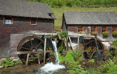 die Hexenlochmühle,ein Wahrzeichen des Schwarzwaldes