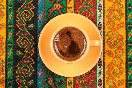 Turkish Caffee on Turkish Carpet
