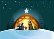 Nativity scene with Holy Family - 57215629