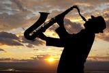 Fototapety Saxophonist
