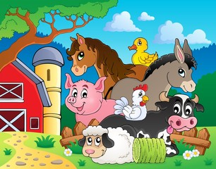 Farm animals topic image 3