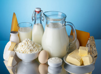 Dairy products, milk, cheese, egg, yogurt, sour cream