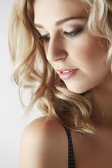 Sexy blonde woman