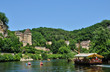 France, the picturesque village of La Roque Gageac in Dordogne