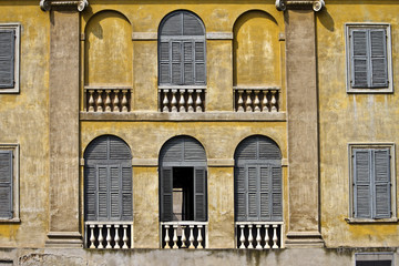 Facciata Villa Mantovana