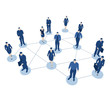 Business Netzwerk - Vernetzung und Kontakte