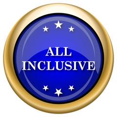 All inclusive icon