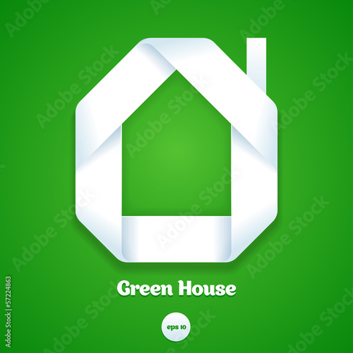 Green house design template.
