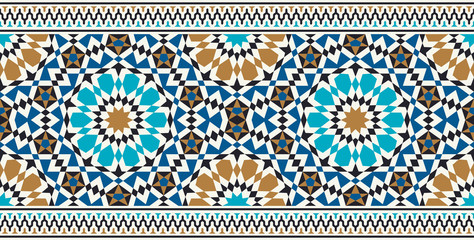 Bonab Seamless Border Three