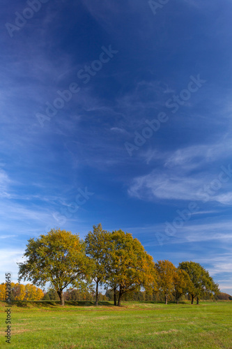 canvas print picture Herbstlandschaft