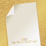 elegant beautiful background with monogram
