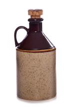 Vintage cider beer bottle