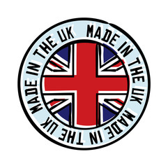 Made in the UK Badge