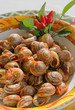 cooked snails in  tomato sauce