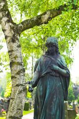 Engel an einem Grab