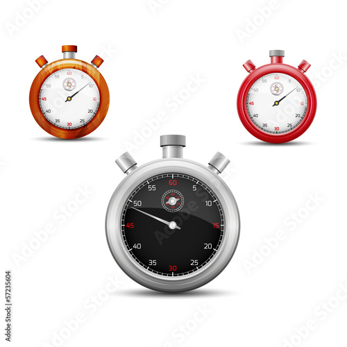 The stopwatch set