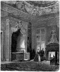 Aristocratic Bedroom - end 16th century