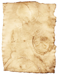 old stained vintage paper background