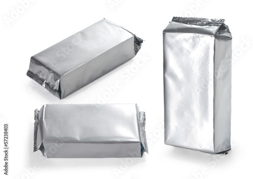 silver product packaging