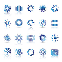 Unusual Icons Set - Isolated On White Background