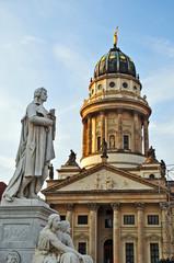 Berlino, Chiesa dei Francesi (deutscher dom) a Gendarmenmarkt