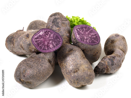 Kartoffeln - violet