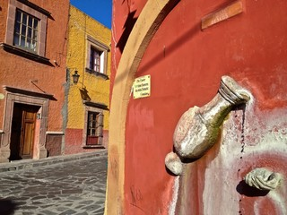 Colorful San Miguel de Allende Guanajuato Mexico North America