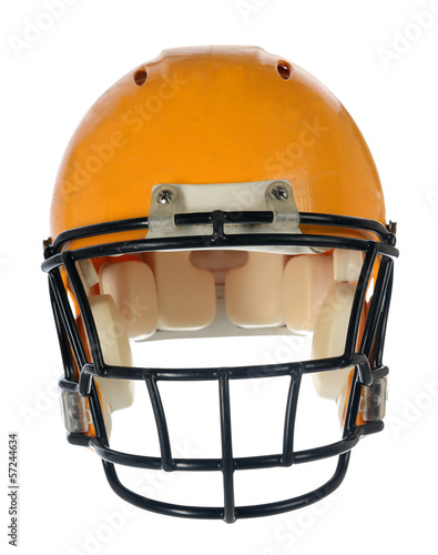 Football Helmet - Front View