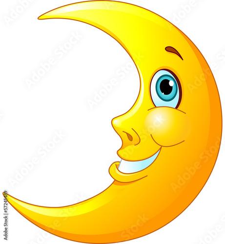 Fototapeta Smiling Moon