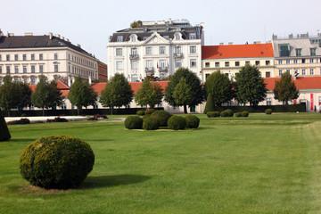 Vienna parkland