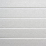White plastic wall sheathing cover