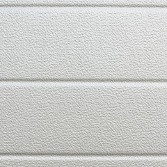 White plastic wall sheathing cover