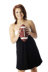 Dressy Dress with Football