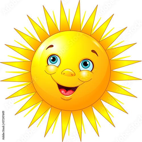 Fototapeta Smiling sun