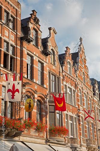 Leuven - Palaces of Oude markt