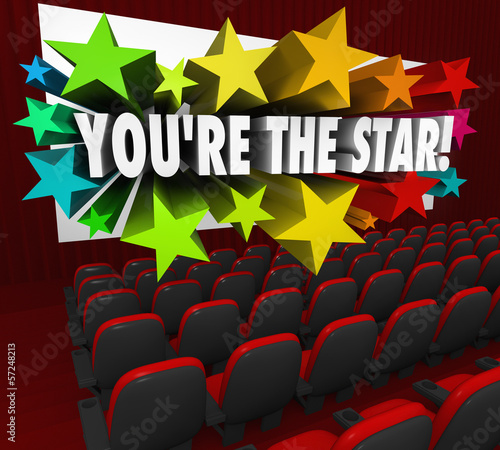 You're the Star Movie Theatre Screen Film Acting