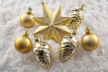 Group of Christmas ornaments